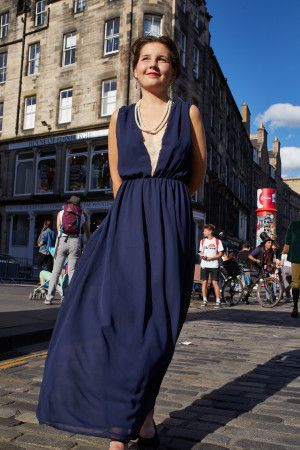 Edinburgh's streets were filled with both traditional and eccentric fashion as its annual festival brought out the extrovert in everyone.
