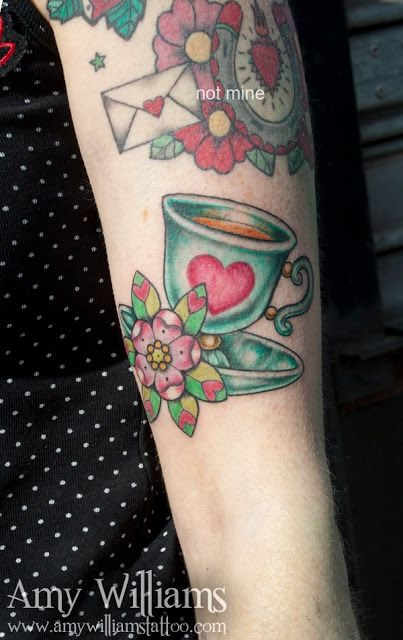 amy williams tattoo | Dolly Cool Clare: Time for Tea? My new Teacup Tattoo!