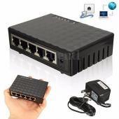 5 ports rj-45 10/100/1000 gigabit ethernet network switch auto-mdi/mdix hub new unknown (1000-mbit/s) 1000mbps/1gbps unmanaged standalone
