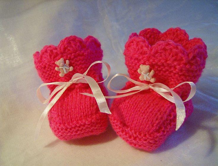 *Ilonas* Babyschuhe, Babyschühchen von IlonasSchmuckstuebchen auf DaWanda.com http://de.dawanda.com/product/43363498-Ilonas-Babyschuhe-Babyschuehchen