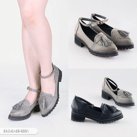 Derystin Fringe Platform Shoes | Sale Stock Indonesia