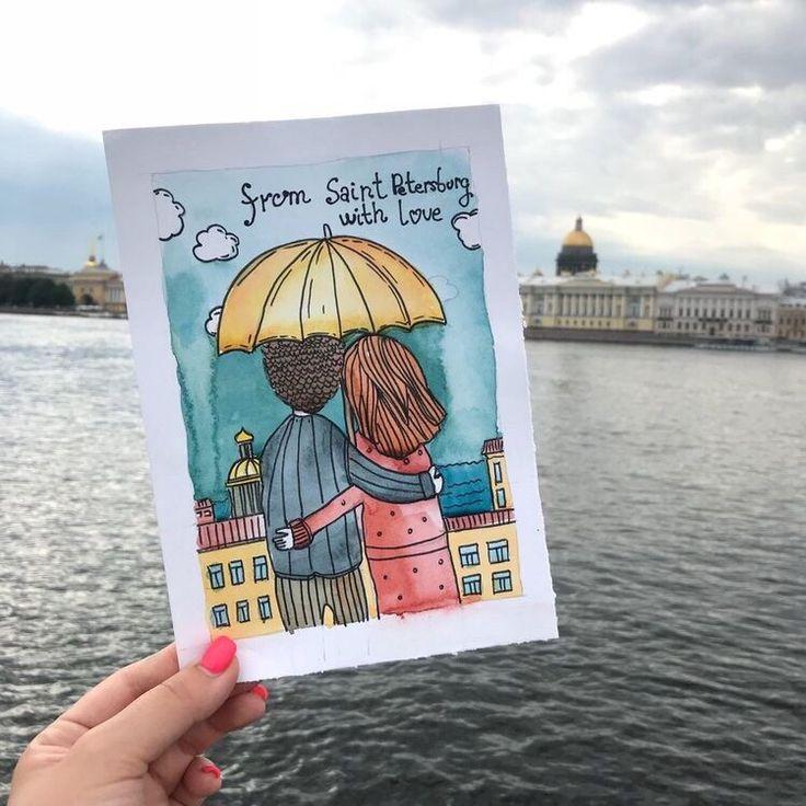 Дню, санкт-петербург открытки пинтерест
