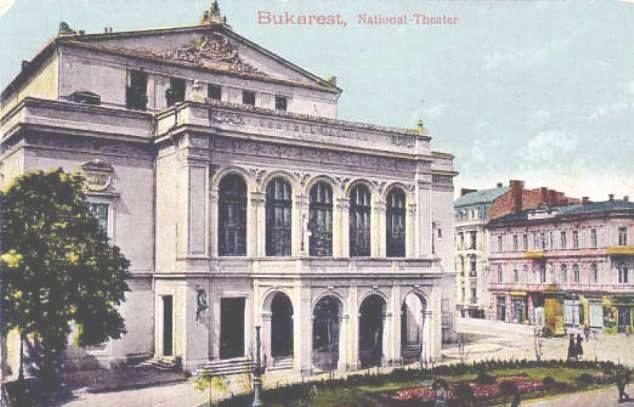 Bucuresti - Teatrul National - 1918