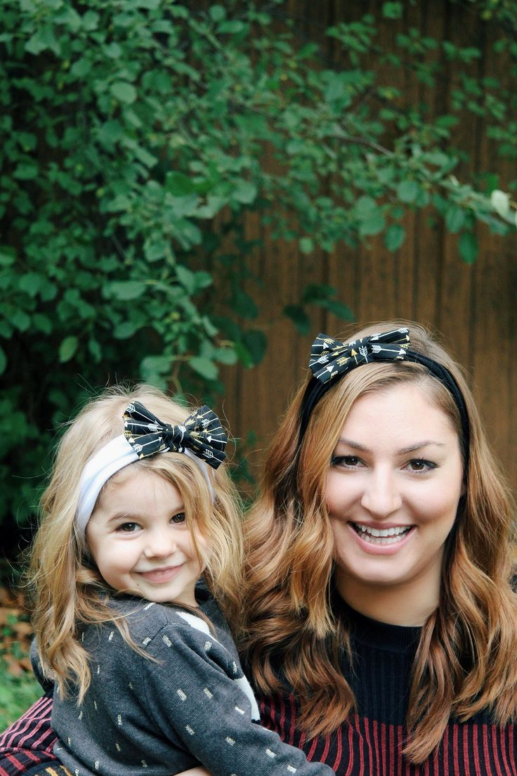 Cute Mother and Daughter matching headbands