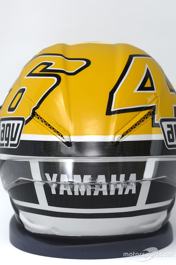 Helmet of Valentino Rossi, Yamaha Factory Racing at Goodwood Festival Of Speed