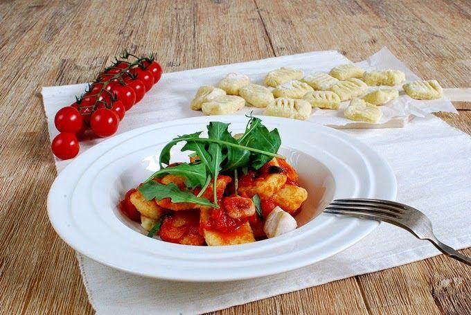 FoodLover: Domácí gnocchi s rajčatovou omáčkou