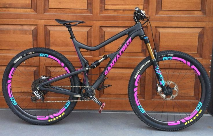 Santa Cruz Tallboy (Custom Decals) - Troydon_Murison's Bike Check - Vital MTB