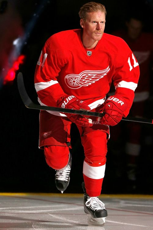 Daniel Alfredsson, Detroit Red-- No, I can't do this yet. It's too weird.