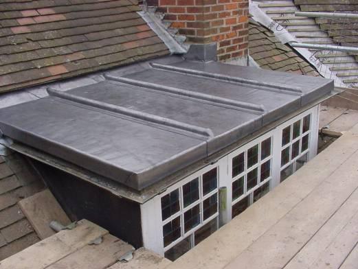Leaded roof dormer - Loden dak - loodwerk
