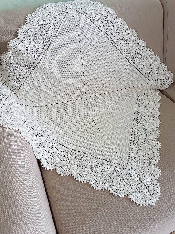 Crochet Baby Blanket Baby Girl Blanket Baby Boy Blanket
