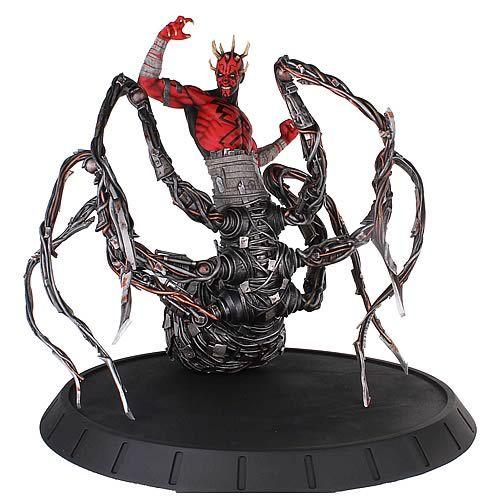 Darth Maul Spider Statue