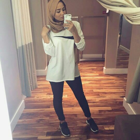 84 best Hijab Gym Outfit/ inspiration images on Pinterest | Hijab fashion Muslim women and Gym ...