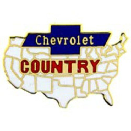 """Chevrolet Map Logo Pin 1"""" by FindingKing. $8.99. This is a new Chevrolet Map Logo Pin 1"""""""