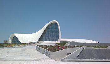 Zaha Hadid - Heydar Aliyev Cultural Centre in Baku, Azerbaijan