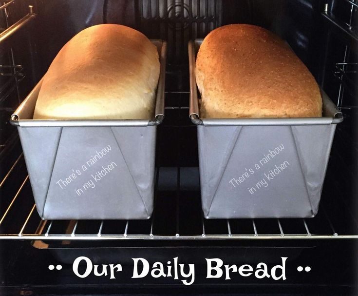 Our Daily Bread TM5 & TM31 White Bread  Loaf