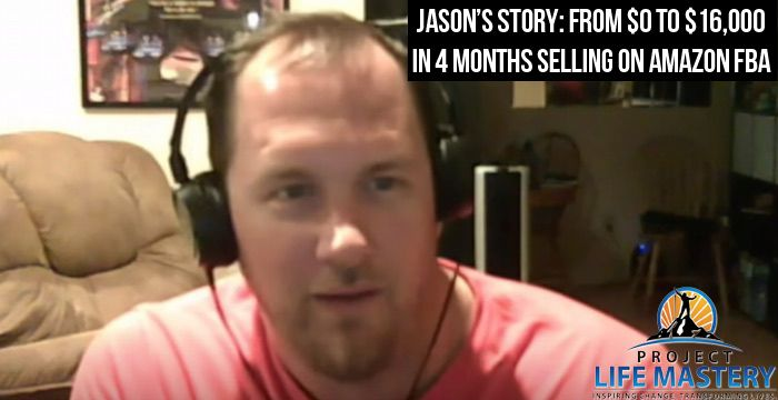 http://projectlifemastery.com/jasons-story-from-0-to-16000-in-4-months-selling-on-amazon-fba/