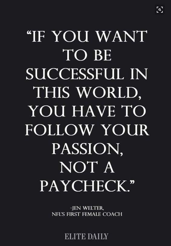 True and at least do what you love and hopefully it pays the bills.