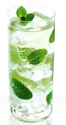 Skinny Mojito - Low Calorie Cocktail YUM sounds so good for beach weather!