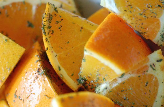 Den ultimative langtidsstegt and med appelsin og timian