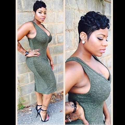 Fantasia Hairstyles fantasia barrino short hair with side fringe google search The Cut Life Thecutlife Oh Hey Tasiaswoinstagram Photo Fantasia Hairstylessweet