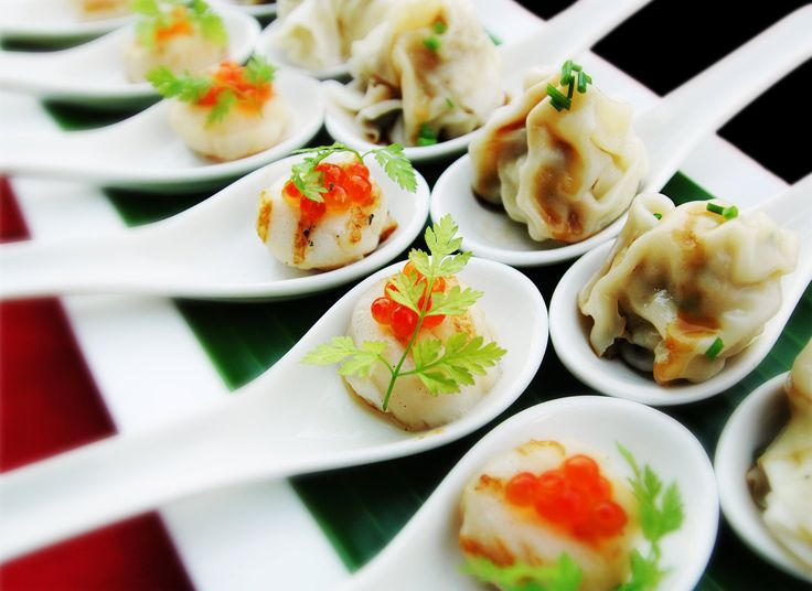 Yummy canapes