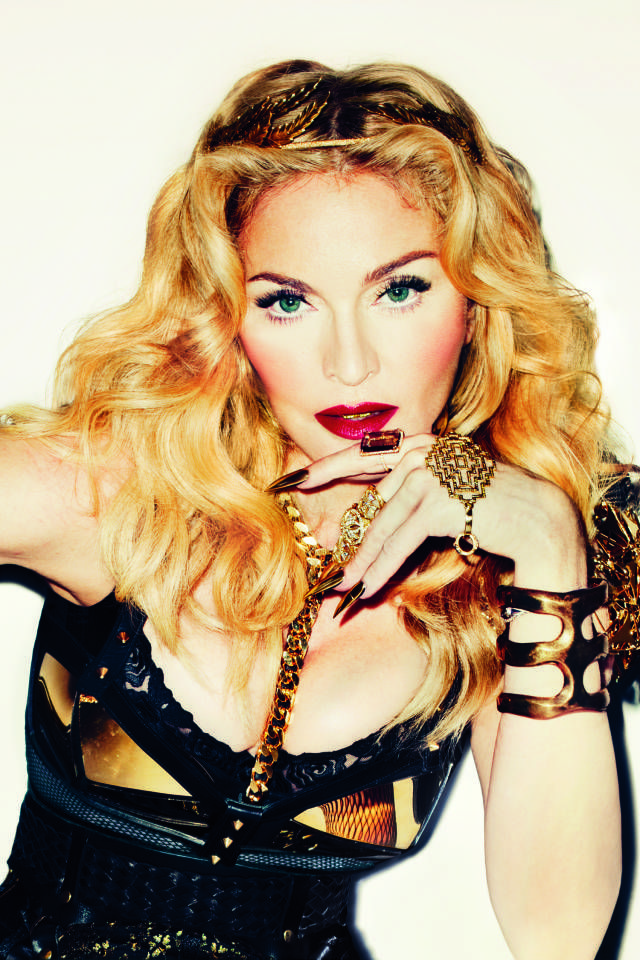 Is Madonna Collaborating With Siri For Her New Single? Madonna Showing us how its done in the cyber-age.