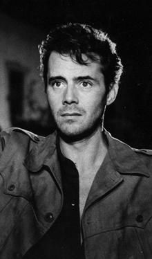Dirk Bogarde ... currently reading his biography.