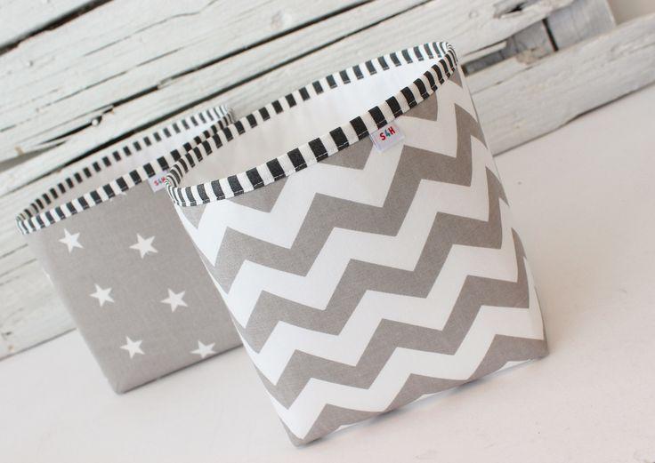 Grey baskets