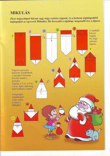 *  Origami: De Kerstman                                                                                                                                                                                 Más