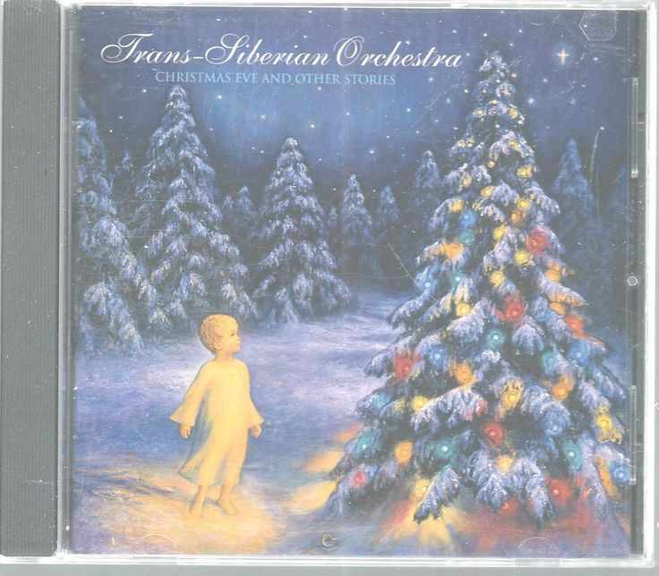 Christmas Eve Other Stories Trans-Siberian Orchestra CD 2001 ...