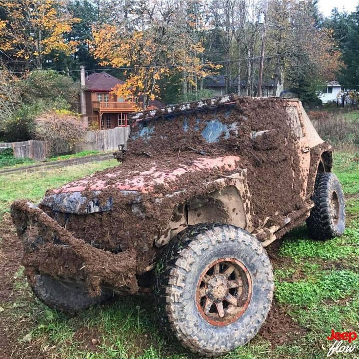 Caption this photo. Tag owner. #jk #jku #wrangler #rubicon #4x4 #muddy #jeep #jeeps #JEEPFLOW