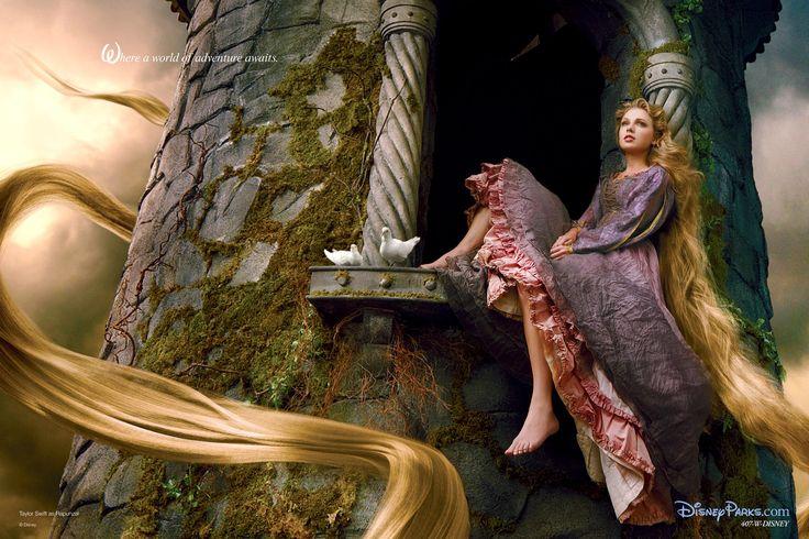 Taylor as Rapunzel !