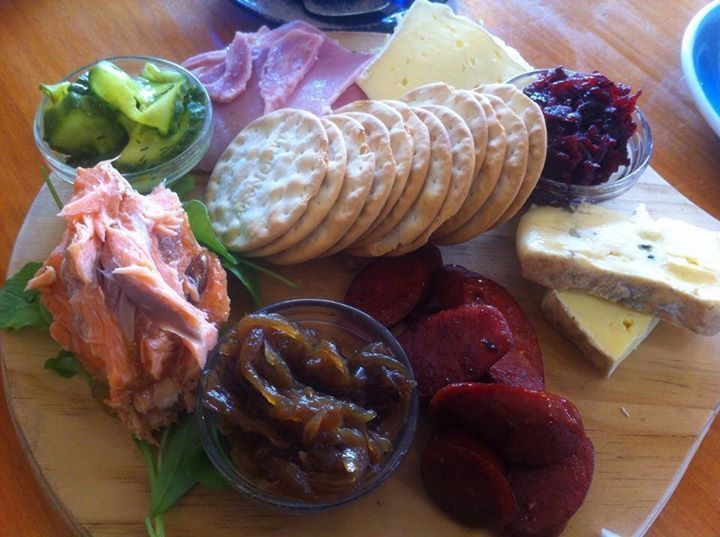 Had to take a picture of this delicious antipasta platter I had at Blueskin Nurseries in Waitati (SH1 just before Dunedin). Although a great garden centre, I was surprised at how awesome their cafe was. The menu includes everything from all-day breakfasts to soups, burgers and more. Plus there's a kids menu. Well worth a stop to break the journey, even for a coffee.  Find them here: http://www.blueskinnurseries.co.nz/