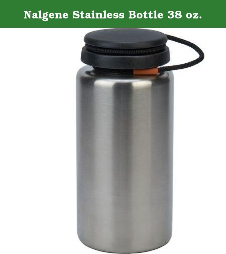 Nalgene Stainless Bottle 38 oz. The most versatile stainless bottles on the market! The wide mouth opening is great for easy cleaning or filing with ice. It has a standard Nalgene thread pattern and 63 mm opening, which make them compatible with most water filters.The only wide mouth stainless bottles with stainless steel threads making them incredibly durable and good-looking!.