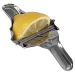 Exprimidor de limones. Practico exprimidor de citricos. Ideal para meseros y bartender. Hecho de aluminio