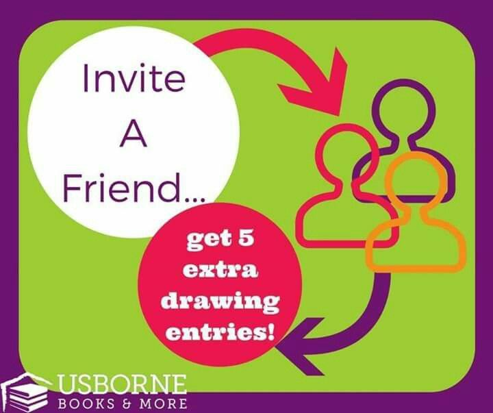 Invite a friend | Usborne Books | Pinterest | Circles ...