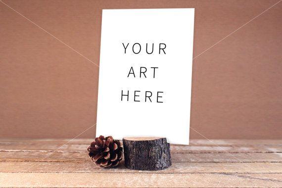 Wedding Mockup Blank Card Mock greeting card mock by confettibears