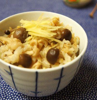 シメジと生姜の炊き込みご飯 by Runeさん   レシピブログ - 料理ブログ ...