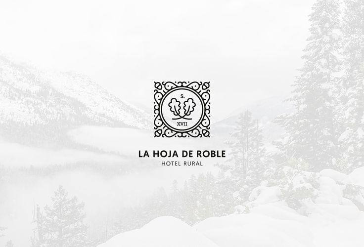 La Hoja de Roble. Corporate Identity on Behance by Pixelarte Creatividad