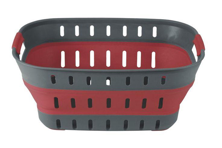 Der Collaps Korb lässt sich nach Gebrauch vollständig zusammenklappen und eignet sich ideal für Wäsche und zur Aufbewahrung von Dingen. Er besteht aus bruchfestem Material, lässt sich leicht reinigen und im Handumdrehen zusammenklappen.  • Zusatzinformation: - Zusammenklappbar - Mit Flaschenöffner • Material: Silikon, Plastik • Typ / Einsatzbereich: Klappbox  Größe  • Maße (L x B x H): 57 x...