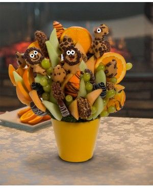 You're Wild Blossom scent free fruit bouquet are great for all occasions and make great gifts ideas or decorations from a proud Canadian Company. Great alternative to traditional flowers or fruit baskets