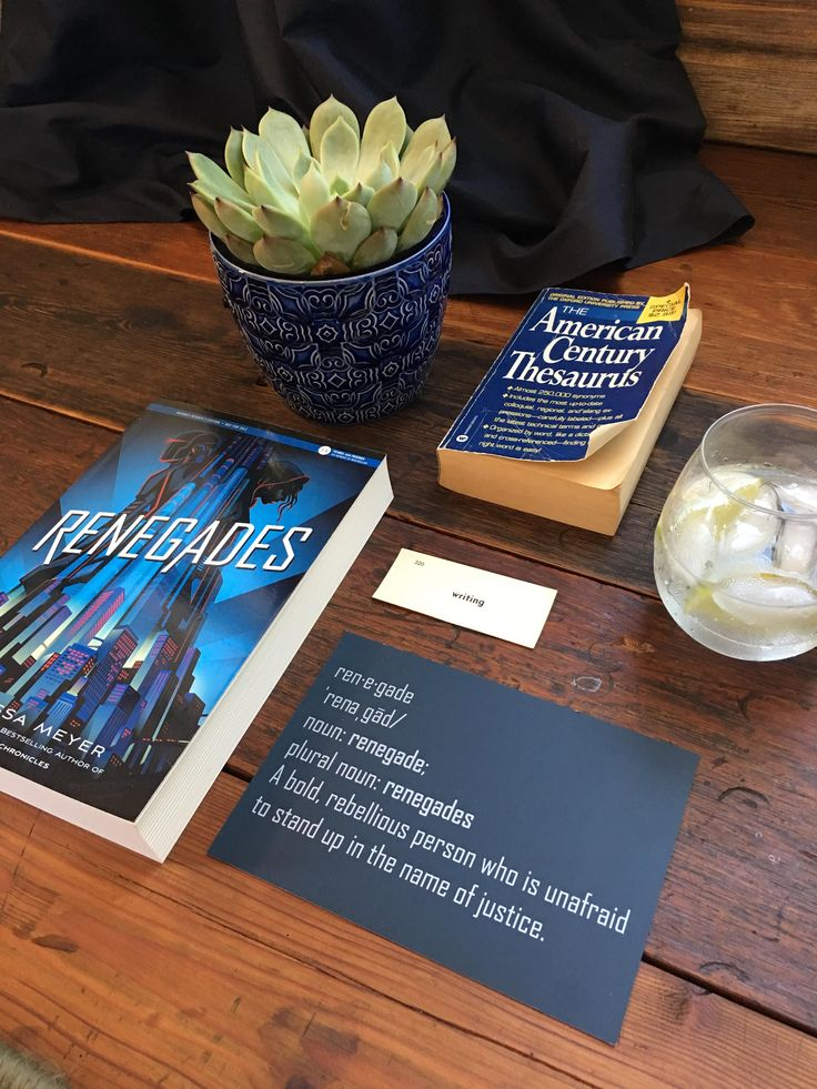 RENEGADES by Marissa Meyer comes out 11/7, but you can enter to win an ARC! #WinRenegades