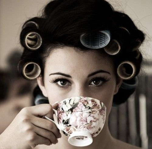 Morning TeaHair Rollers, Teas Time, Teas Cups, Cups Of Teas, Mornings Coffe, Drinks Teas, Beautiful Tips, Teacups, Pampered Parties