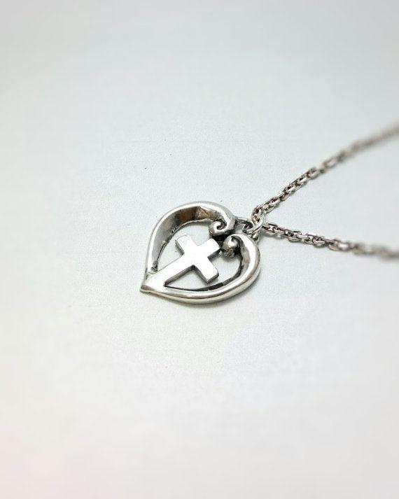 heart&cross pendanttop