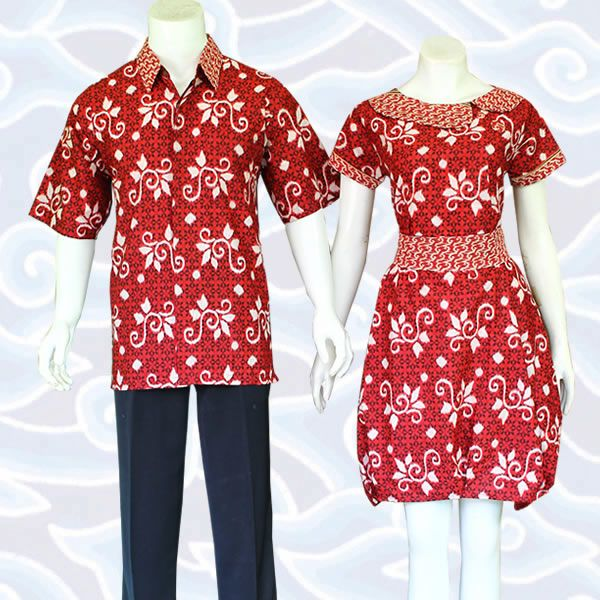 batik sarimbit dress SB204