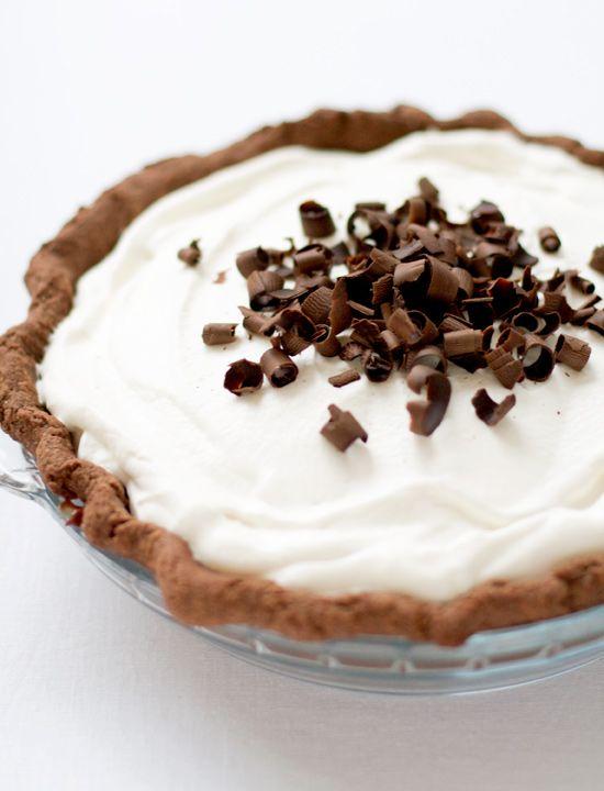 Chocolate Banana Cream Pie | Love and Olive Oil