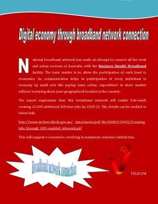 Choose your broadband network connection with VTELECOM and enjoy broadband plans... Visit us: https://www.vtelecom.com.au/adsl2/business-broadband.html