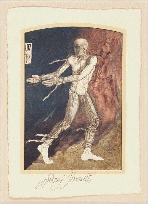 Andrzej Strumiłło (Poland, 1928) Ilustracja do Psalmu 107