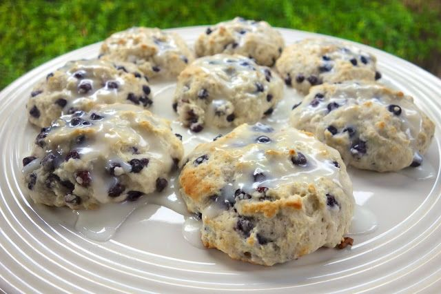 Blueberry biscuits - must try