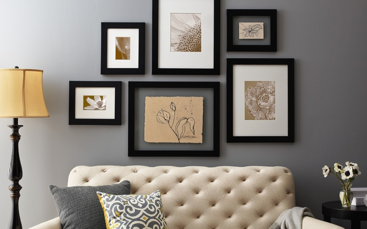 25 Best Ideas About Frame Arrangements On Pinterest